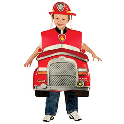 Rubie's Paw Patrol Marshall 3D Child Costume, Toddler: Toys & Games