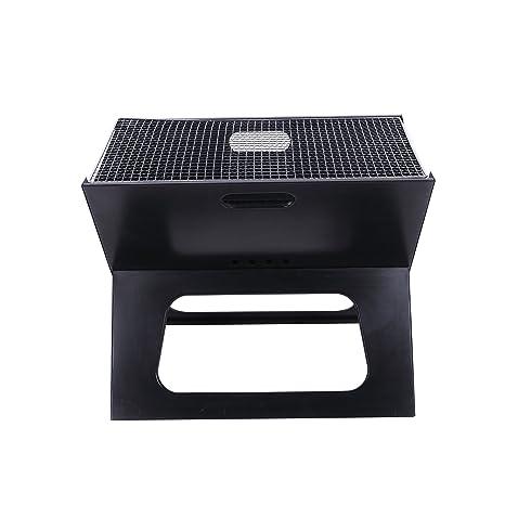 OLOroast X compacto plegable barbacoa de carbón portátil BBQ ...