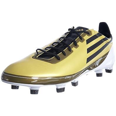 a5a9c383c4 adidas Men s F50 Adizero Trx Fg Metallic Gold Black White Football Boot  Synthetic G16999