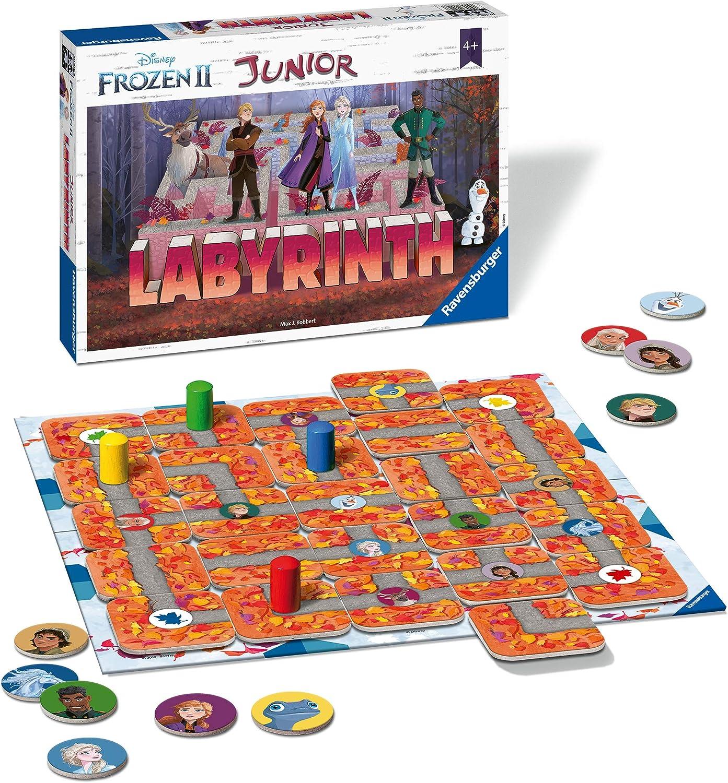Ravensburger - Labyrinth Junior Frozen 2 (20416): Amazon.es: Juguetes y juegos