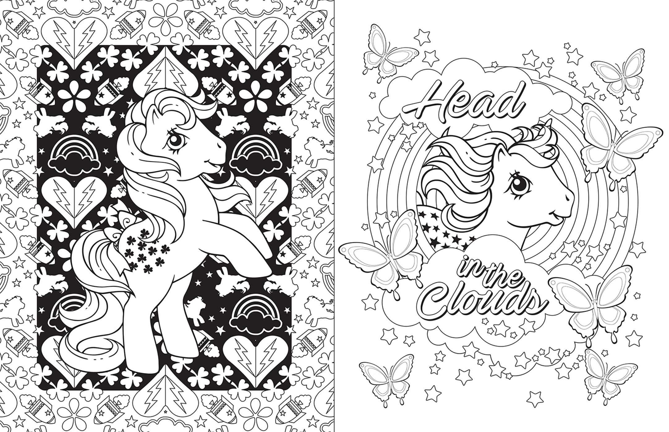 - Little Pony Coloring Book Azspringtrainingexperience