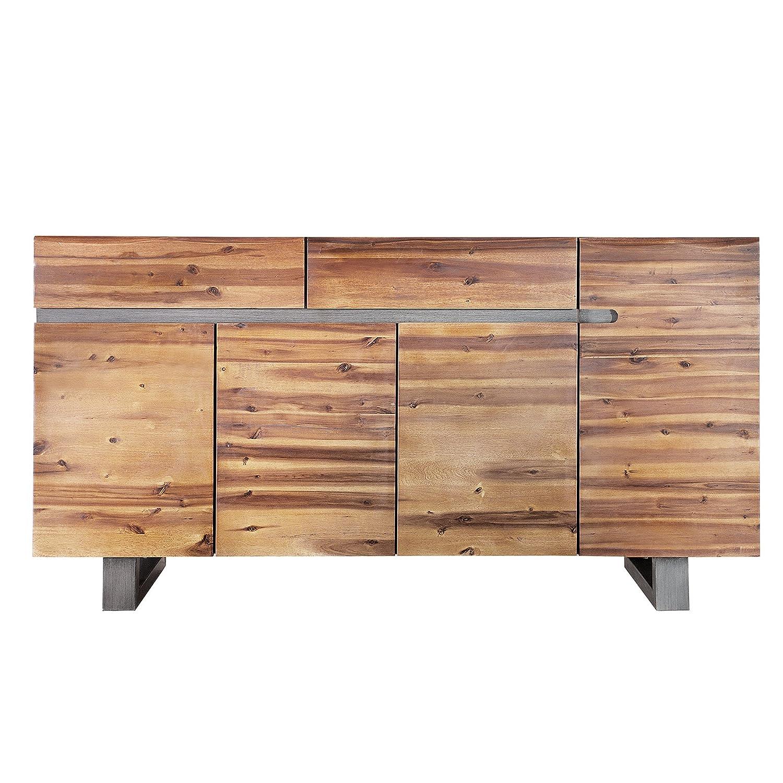 Anspruchsvoll Sideboard Vollholz Dekoration Von Massives Baumstamm Genesis 170 Cm Akazie Massivholz