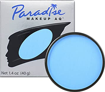 Mehron Makeup Paradise Makeup AQ Face U0026 Body Paint (1.4 Oz) (Light Blue