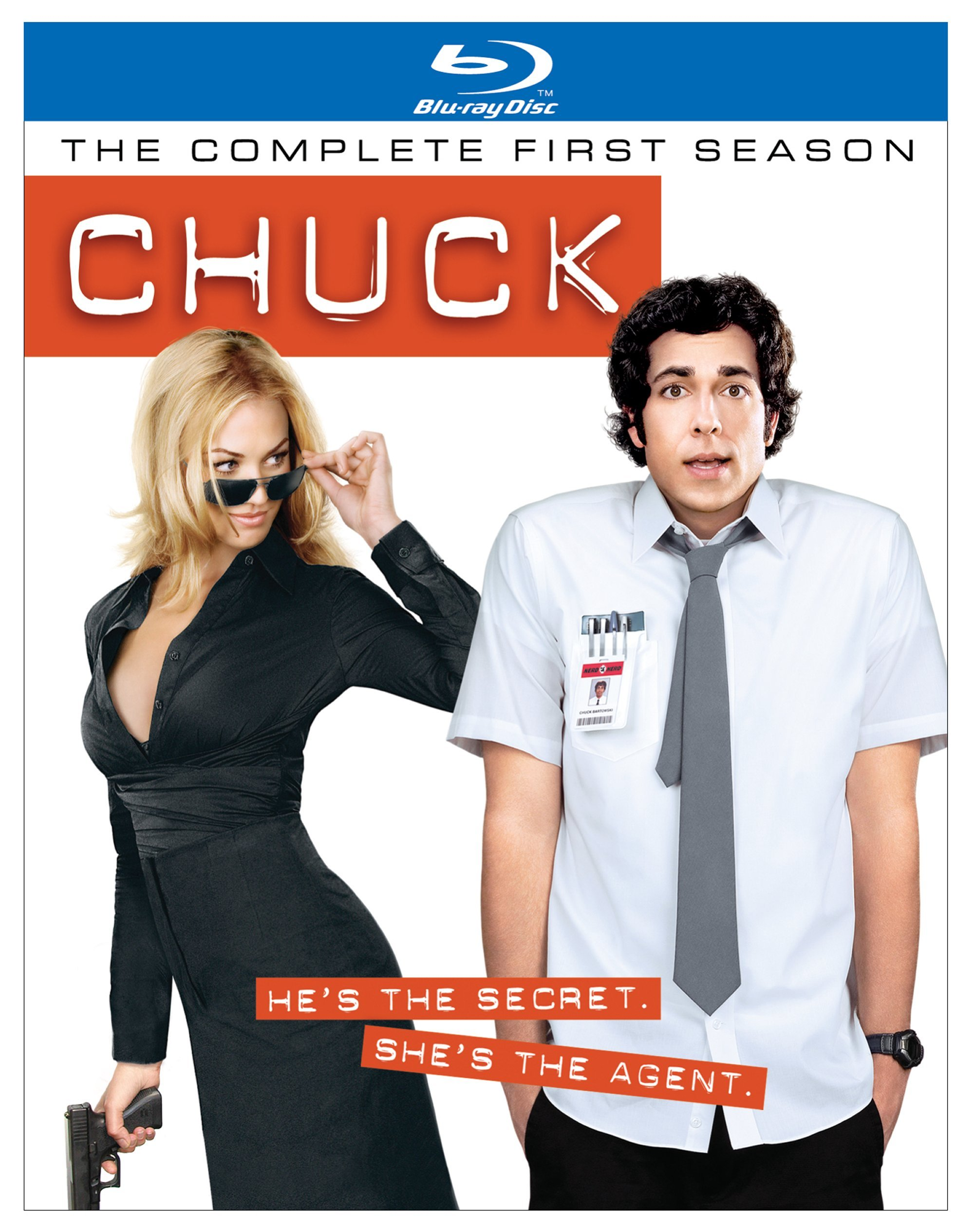 Blu-ray : Chuck: The Complete First Season (, Dolby, AC-3, Widescreen, 3 Disc)