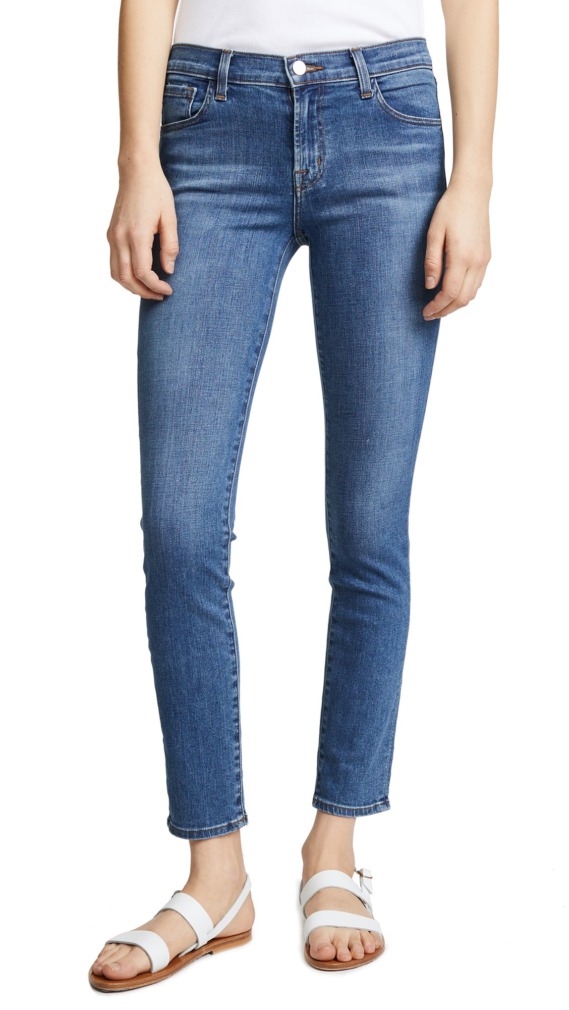 J Brand Women's 811 Mid Rise Skinny Jeans, Lovesick, 25