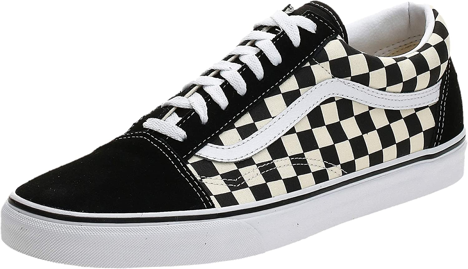 Vans Unisex Old Skool Primary Check Skate Shoe Fashion Sneakers