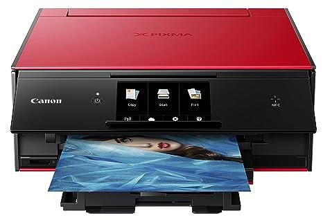 Amazon.com: Canon Office Products PIXMA TS9020 RD Impresora ...