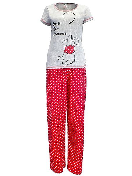 Winnie The Pooh - Pijama para mujer - Winnie Pu - 46 - 48