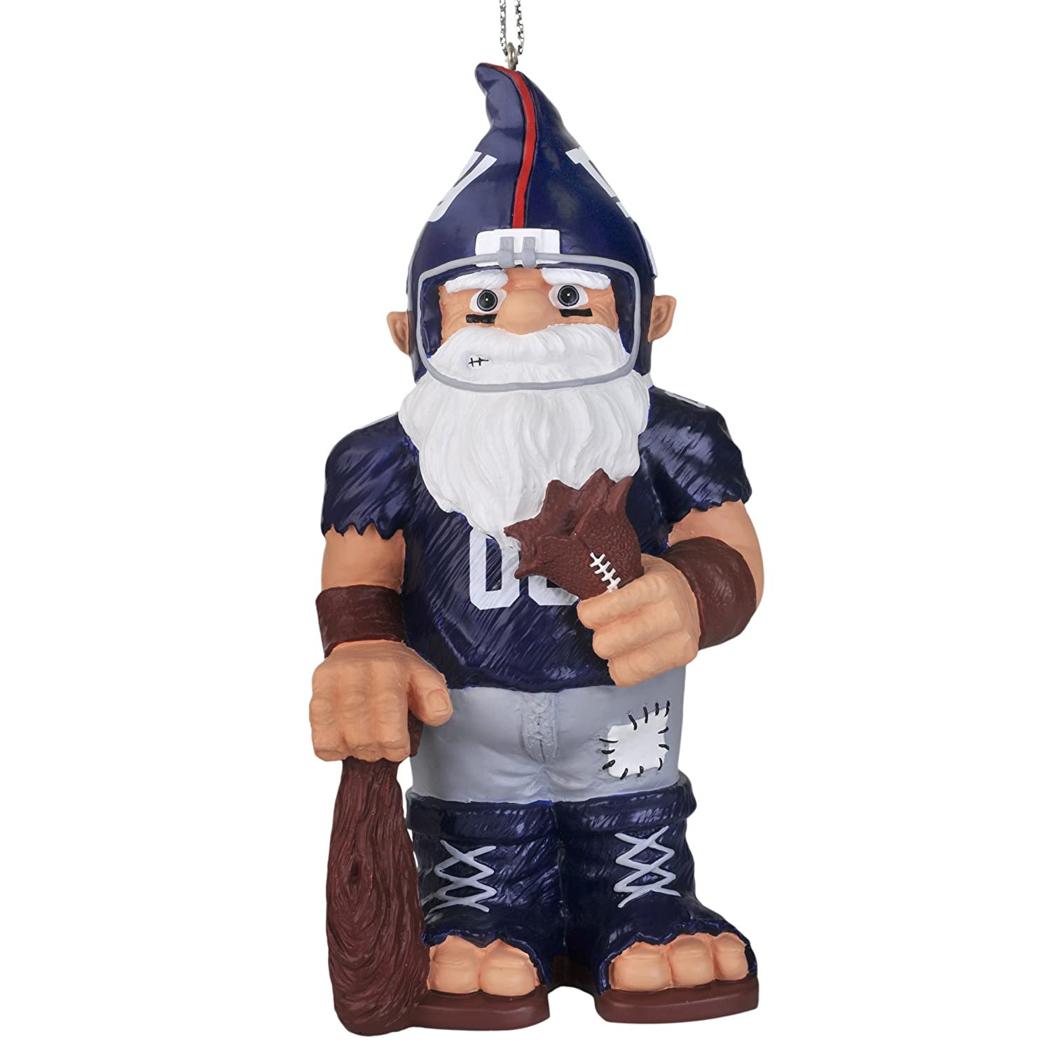 Amazon.com : NFL New York Giants Thematic Gnome Ornament : Sports ...