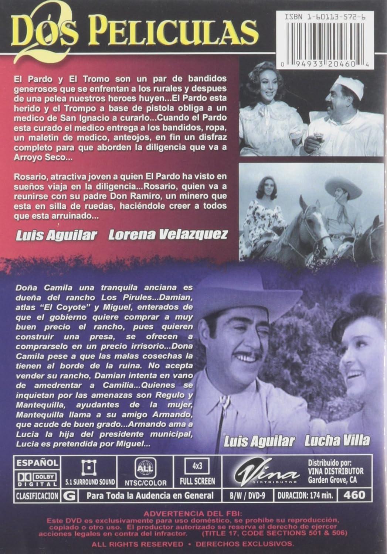 Amazon.com: Ladron Que Roba a Ladron/Mi Revolver Es La Ley: Luis Aguilar: Movies & TV