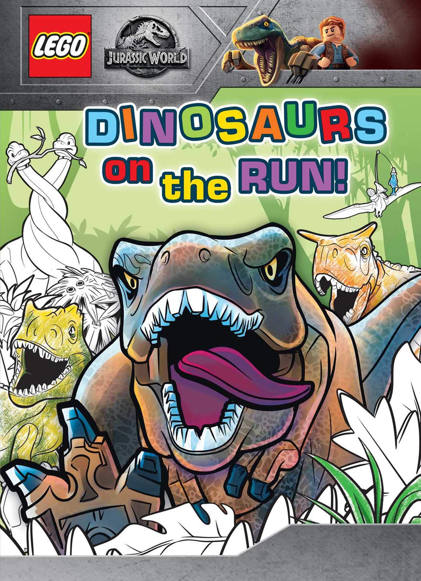 - LEGO Jurassic World: Dinosaurs On The Run!: Editors Of Studio Fun