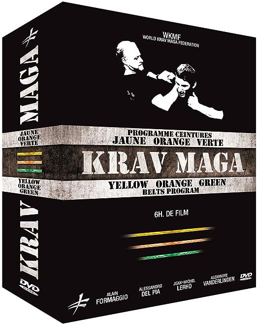 3ac87ce4571b Coffret Krav Maga   Programme ceintures jaune, orange   verte  Amazon.fr   Alain Formaggio, Alessandro Del Pia, Jean-Michel Lerho, Alexandre  Vanderlinden, ...