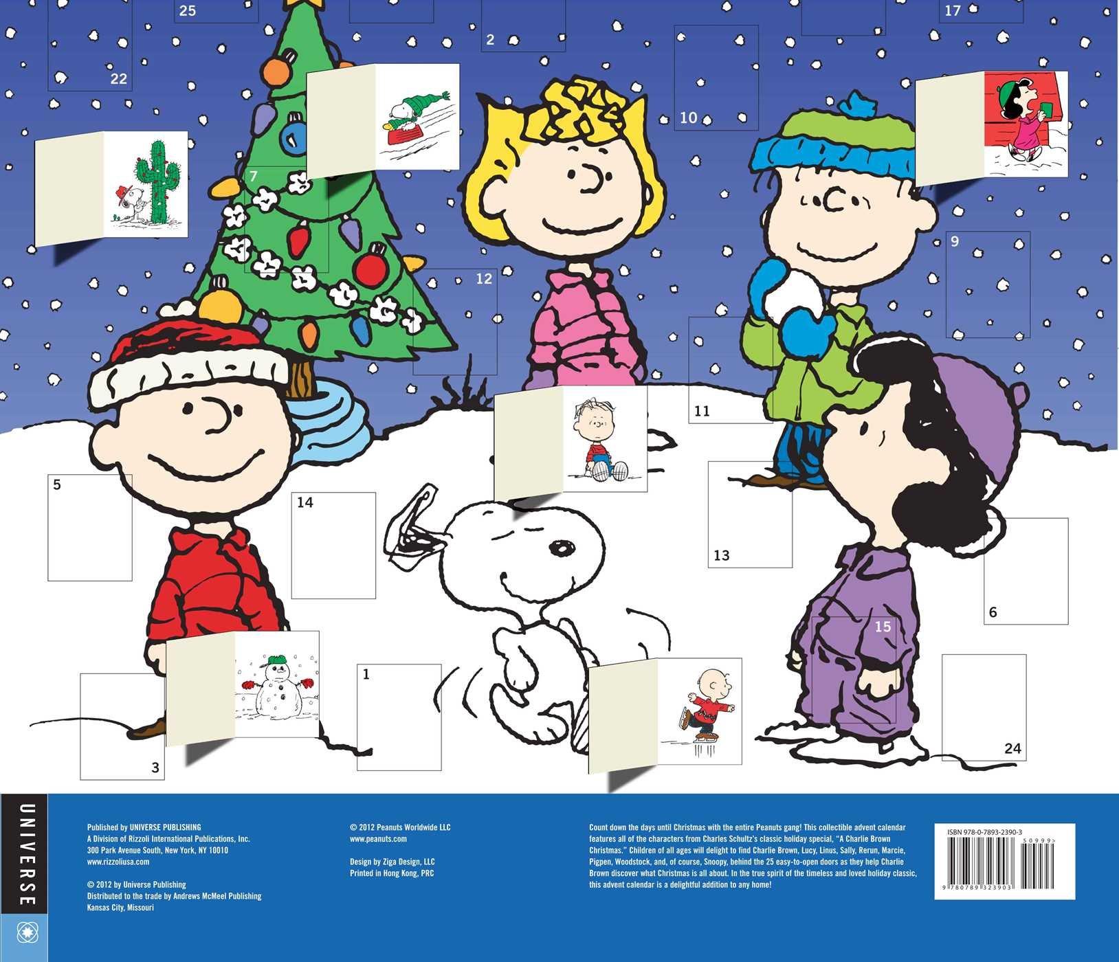 Peanuts Christmas Advent Calendar: Universe Publishing ...