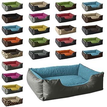 BedDog colchón para Perro LUPI S hasta XXXL, 24 Colores, Cama para Perro, sofá para Perro, Cesta para Perro, M Gris/Azul: Amazon.es: Productos para mascotas