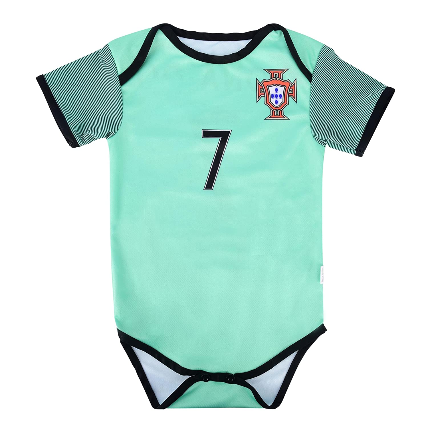 Amazon.com   World Cup Baby Cristiano Ronaldo  7 Portugal Soccer Jersey  Baby Infant and Toddler Onesie Romper Premium Quality   Sports   Outdoors 676d8e530