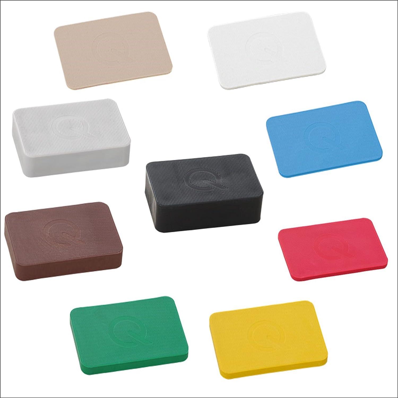 Unterlegplatten 40x60x1-20mm Distanzkl/ötze Tragekl/ötze greenteQ 9 x 50Stk