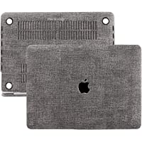 Mcstorey Yeni MacBook Pro A1706 A1708 A1989 13inç Kılıf Kapak Koruma Hard Incase, Keten 01-H4-1478