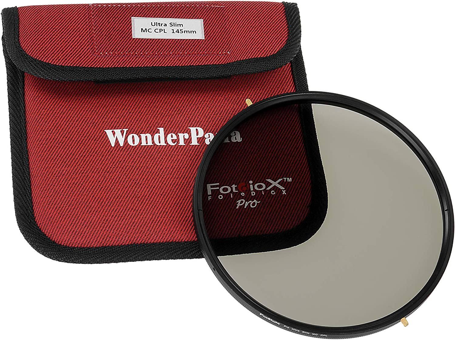 Kit Compatible with Fujifilm XF 8-16mm f//2.8 R LM WR Lens WonderPana FreeArc 145mm Multi-Coated CPL MC-CPL