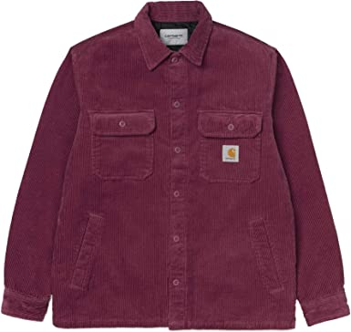 Carhartt WHITSOME Cord Shirt Jacket I026814 Dusty Fucsia ...