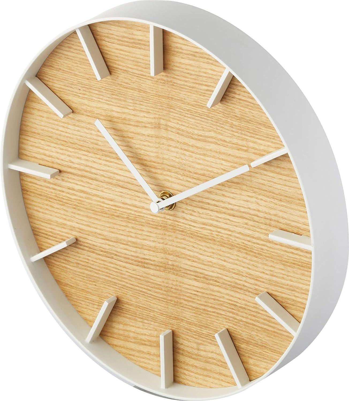 YAMAZAKI home Rin Wall Clock Natural