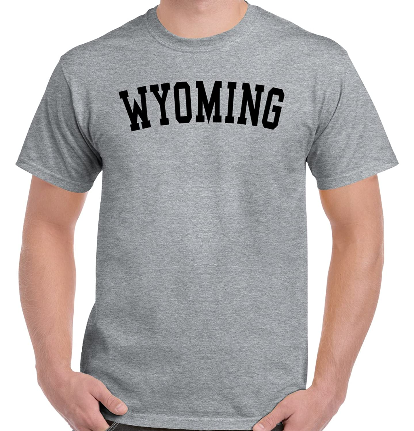 Wyoming Hometown State Usa Campus Gear Team Tee Gift Ideas T Shirts