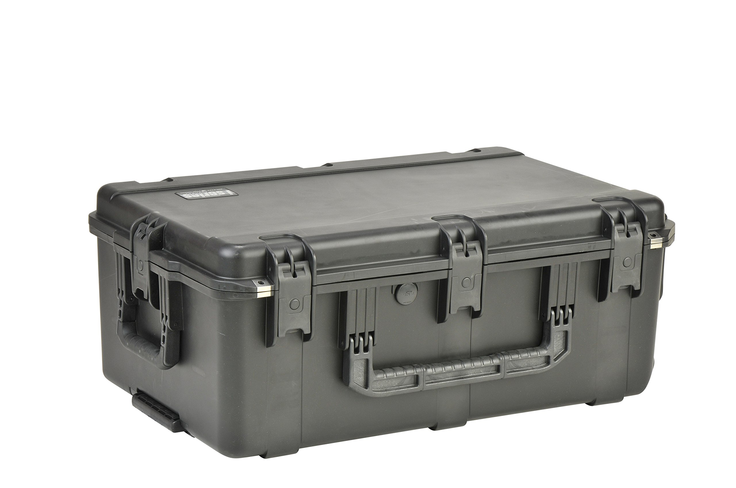SKB Injection Molded Water-tight Case 29 x 18 x 10 Inches with wheels and Gray Dividers (3I-2918-10BD)