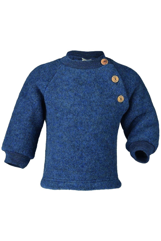 Engel Sweater 100/% Merino Wool Baby Newborn Organic Fleece Raglan Shirt Buttons 57 5410