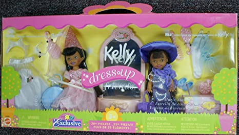 Barbie Kelly Club Dress Up Friends Giftset - Kelly and Nia by Mattel