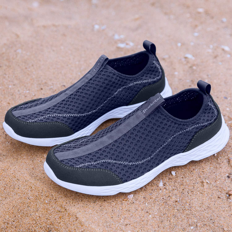 WOTTE Mens Water Shoes Quick Drying Sports Aqua Shoes