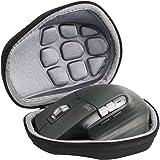 co2CREA Hard Travel Case for Logitech MX Master 3 / Master 2S Advanced Wireless Mouse (Black Case)