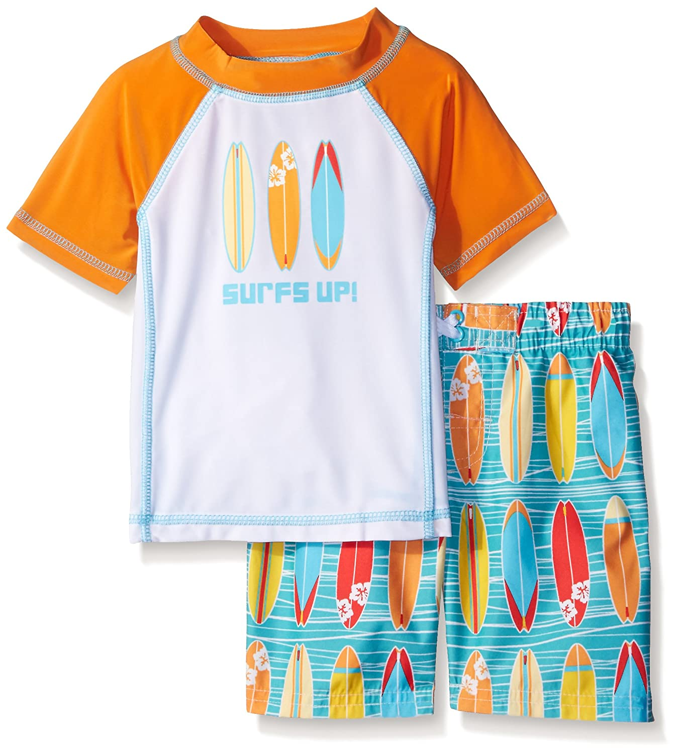 Baby Buns Boys' Wave Rider Rashguard Swimwear Set Baby Buns Children' s Apparel 3754