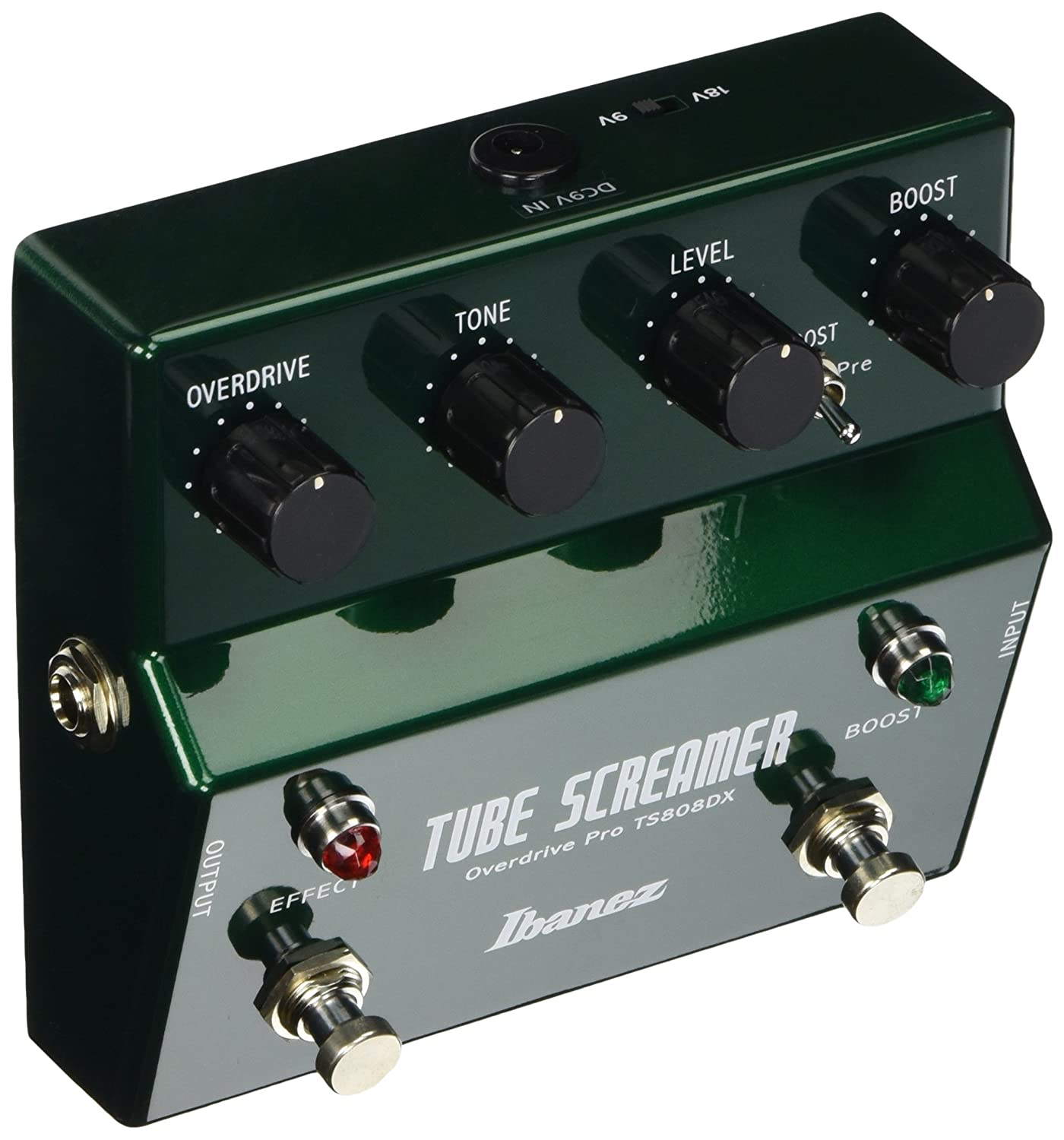 ibanez ts808dx tube screamer booster overdrive pedal