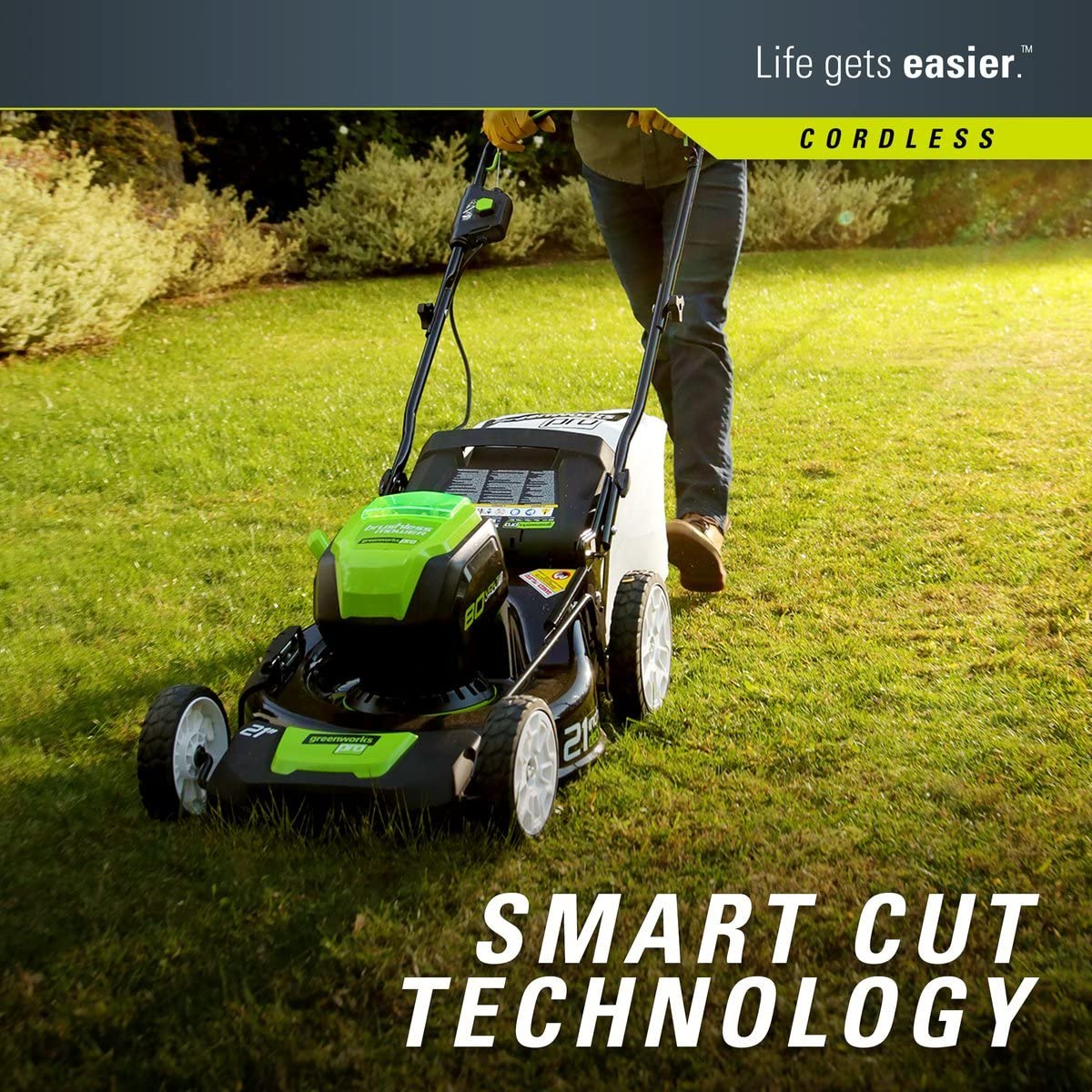 Pro Push Cordless Lawn Mower