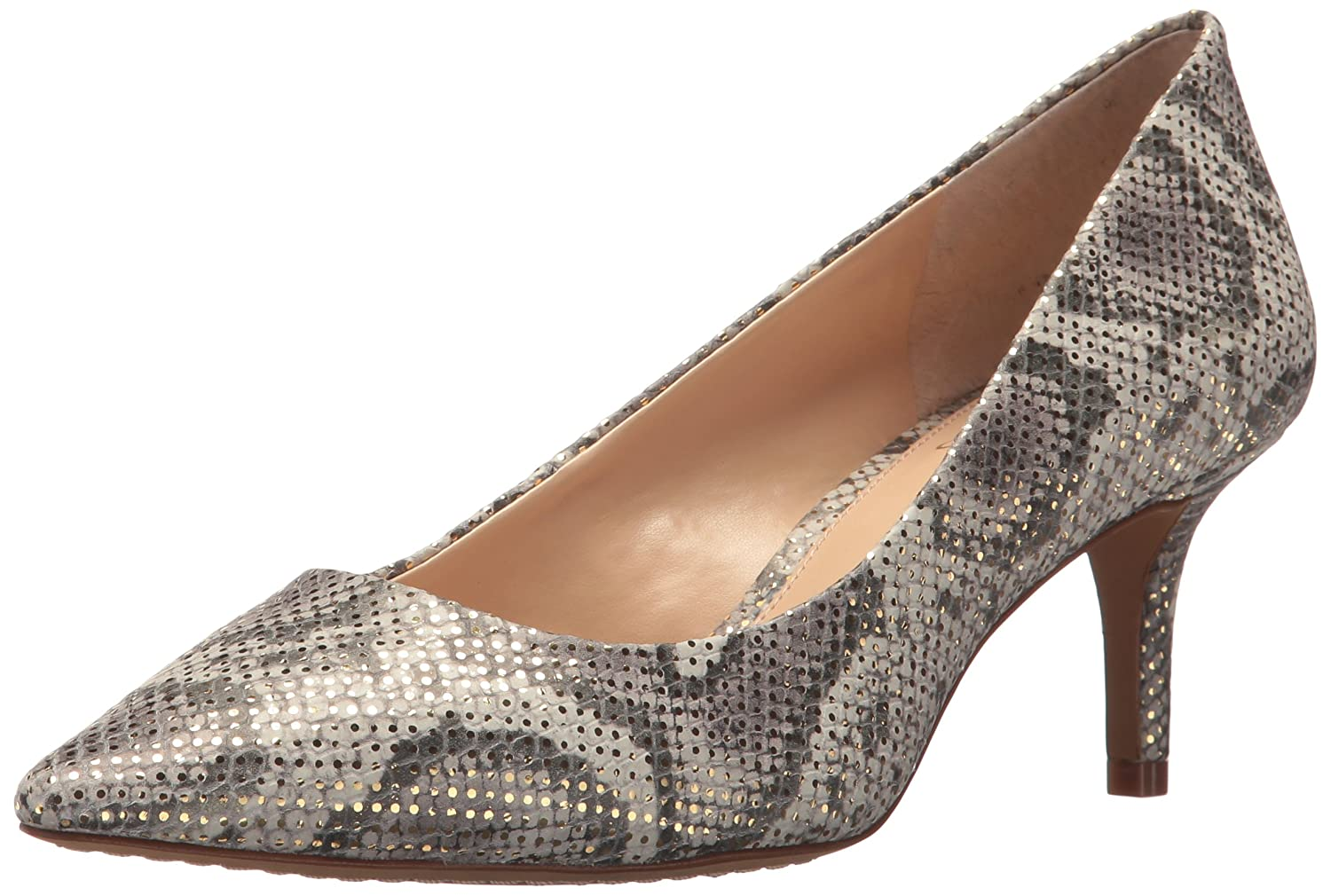 Vince Camuto Women's Kemira Pump B0771R4PWF 10 B(M) US|Natural Gold