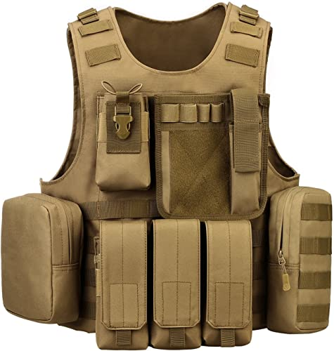 ArcEnCiel Tactical Molle Vest