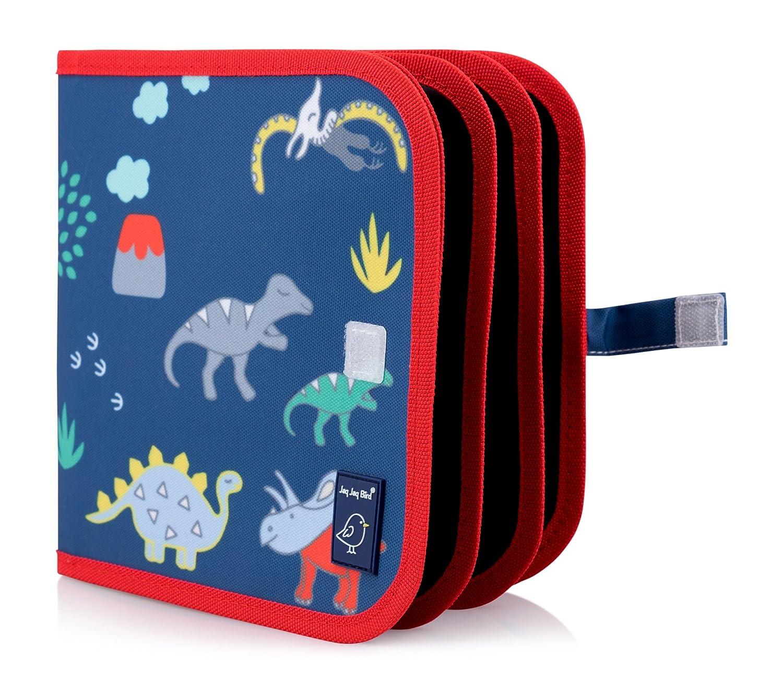 Jaq Jaq Bird Children's Mess Free Chalk Coloring Book: Creative Toy, Portable, Reusable (Dinosaur)