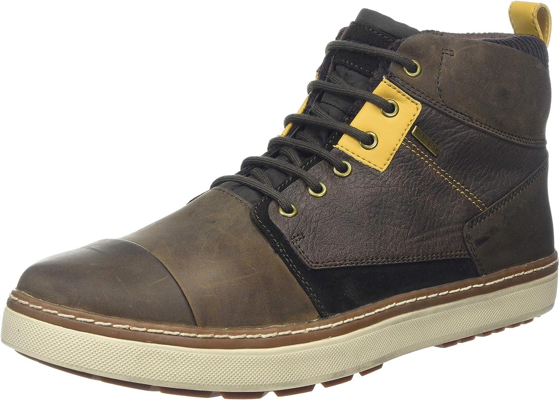No autorizado Estándar Comprometido  Amazon.com | Geox Men's U MATTIAS B ABX A Sneakers, Brown (Dk Coffee |  Fashion Sneakers