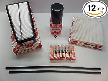 Toyota 4-Runner V6 4.0L 2003-2009 Air,Cabin /& Oil Filter Kit Genuine OEM