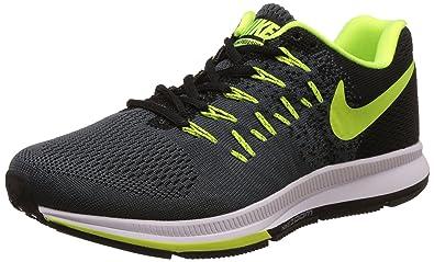 Nike Men's Air Zoom Pegasus 33 Black Running Shoes - 7.5 UK/India (42