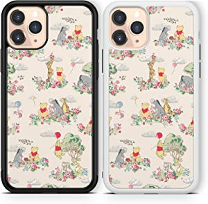 Winnie The Pooh case Compatible with iPhone 12 pro max Mini 11 XR X 7 8 SE Galaxy S20 Ultra S10 Note 10 20 TPU Cover SN179 (White, for iPhonу SE2020/7/8)