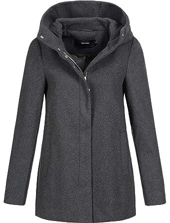super popular cbea3 d8248 VERO MODA Damen Vmhyper Class Wool Jacket Noos Mantel