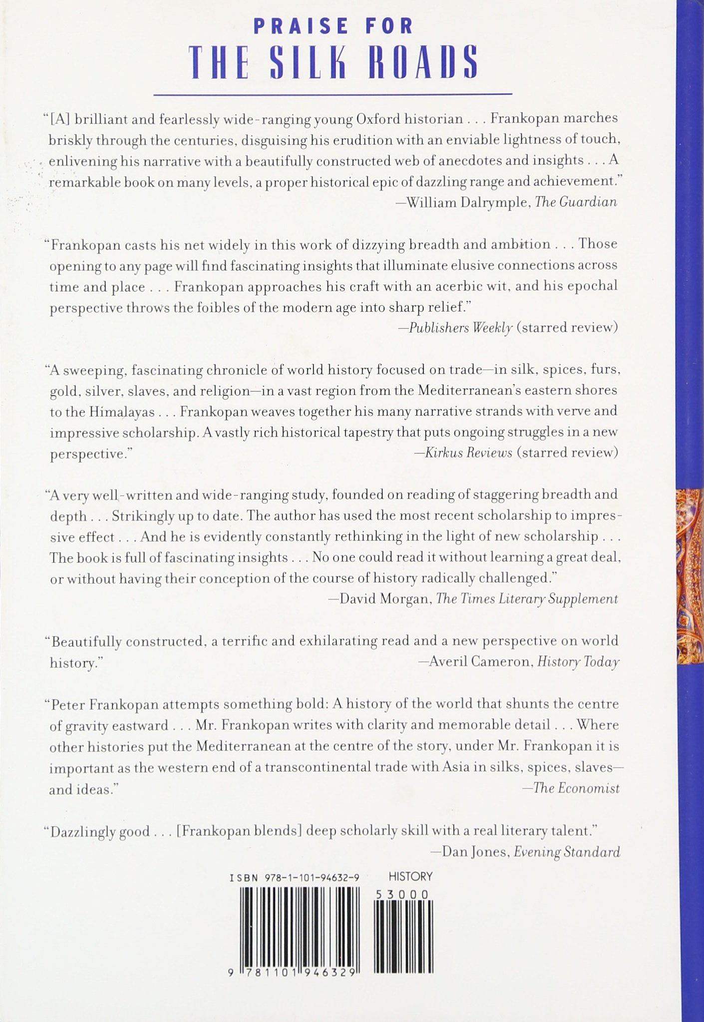 Amazon: The Silk Roads: A New History Of The World (0884556455787):  Peter Frankopan: Books