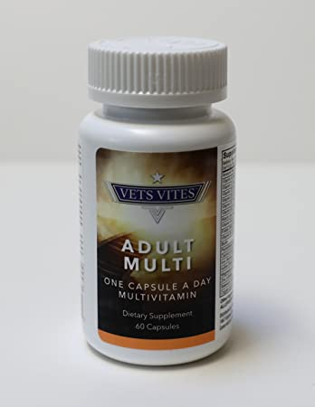 Liquid Multivitamin Capsule for Men & Women: High Dosage Vitamin B, B1, B2,  B6, B12 & Biotin - Fast