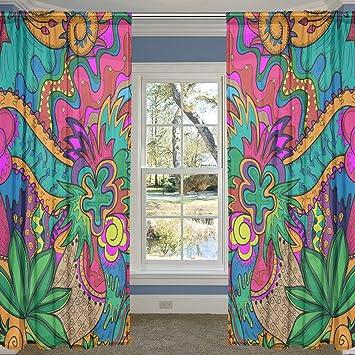 Murales Hippies Para Habitaciones Juveniles
