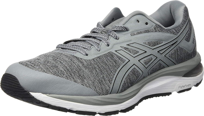 Asics Gel-Cumulus 20 MX Neutralschuh Herren-Grau, Weiß, Zapatillas de Running Calzado Neutro para Hombre, Stone Grey/Black, 42.5 EU: Amazon.es: Zapatos y complementos