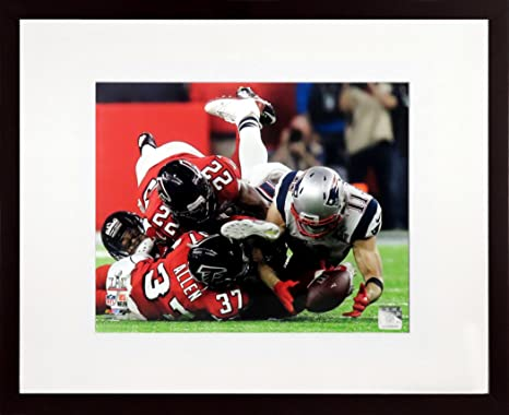 New England Patriots Julian Edelman The Catch SB LI 8x10 Photograph SGA UnderFifty