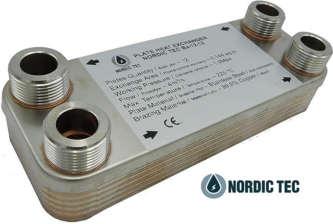 TTScambiatore di calore in acciao inox Hrale 30 dischi max 66 kw Scambiatore te