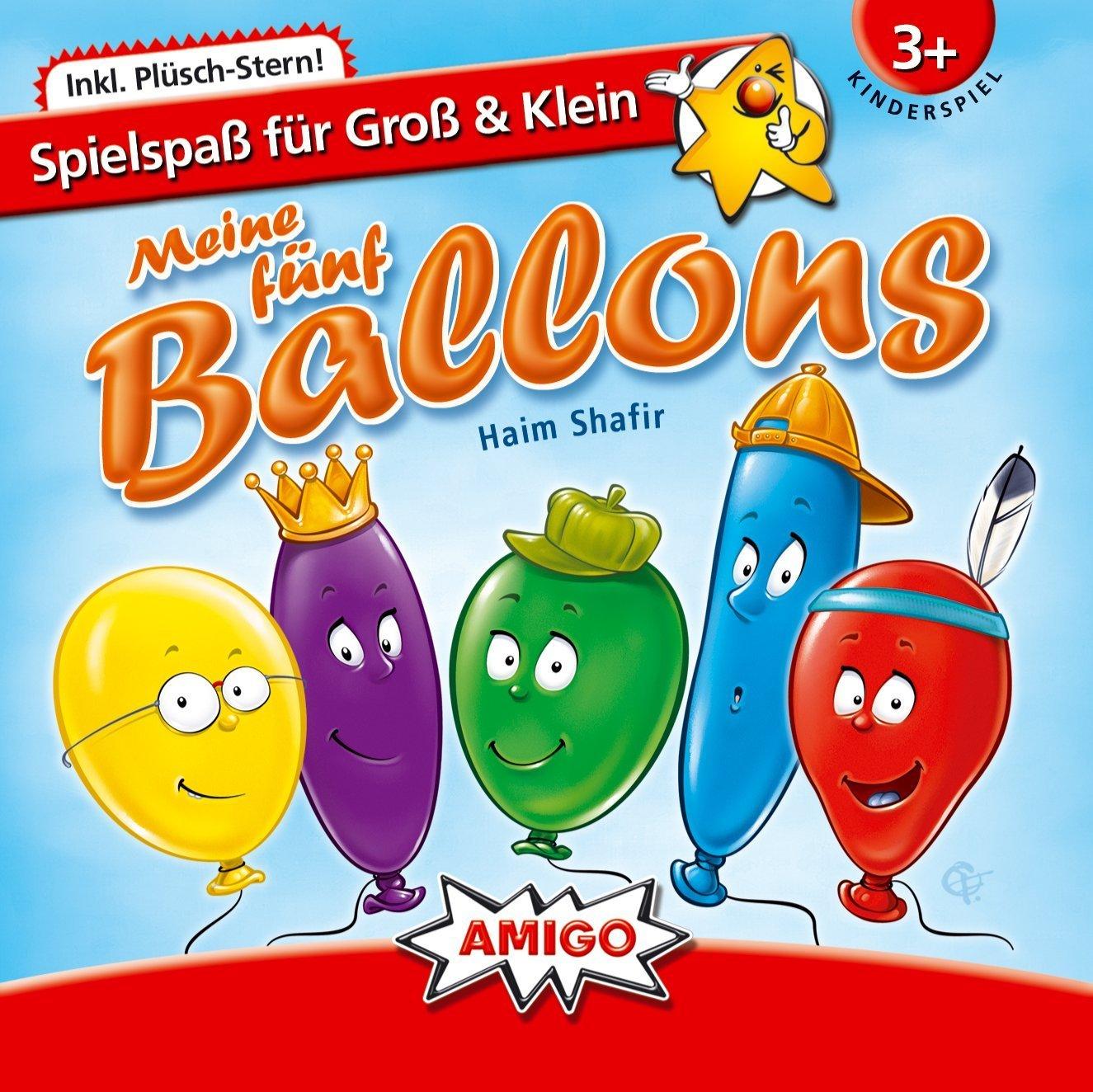 Amigo Spiele 240 Meine fünf Ballons