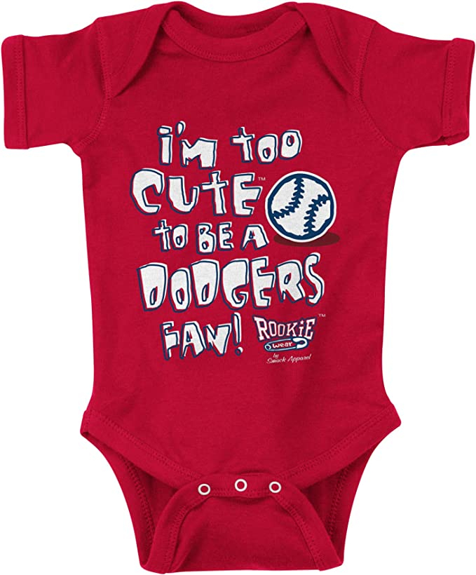 NB-4T Rookie of The Year Royal Onesie or Toddler Tee Los Angeles Baseball Fans