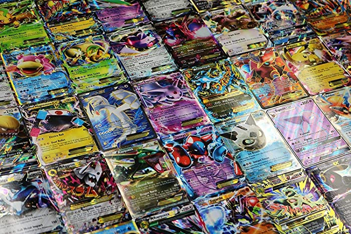 Pokemon TCG - 5 Card EX / GX / Mega EX Lot.